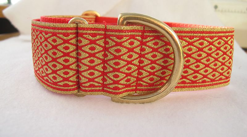Red And Gold Sparkie