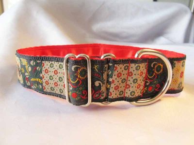 "Gypsy 1.5"" Satin Lined House Collar"