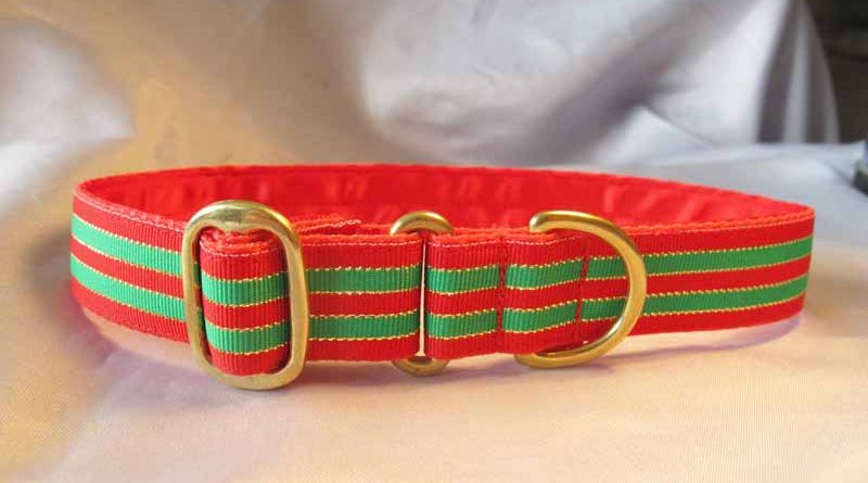 "Jingle 1"" Satin Lined House Collar"