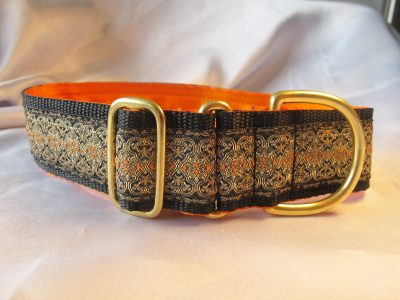 "Thomas Black 1.5"" Satin Lined House Collar"