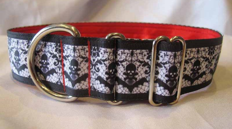 1.5″ Bats Satin Lined House Collar