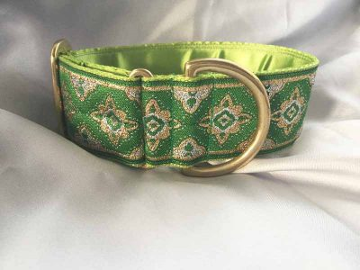 "Galloway Green 2"" Satin Lined House Collar"