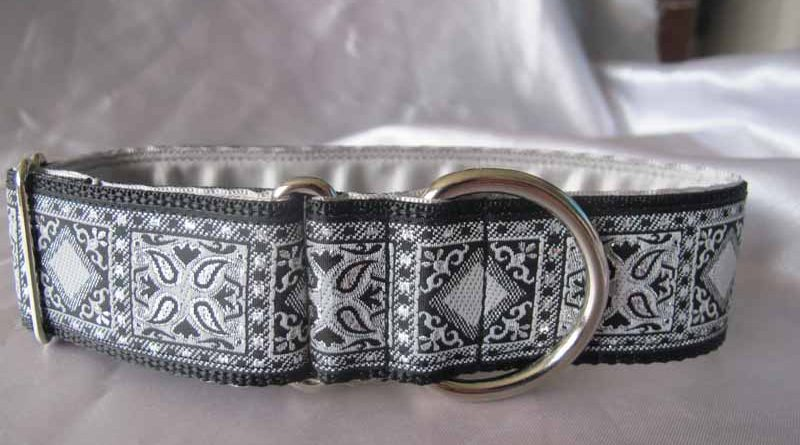 "Tim 1.5"" Satin Lined House Collar"