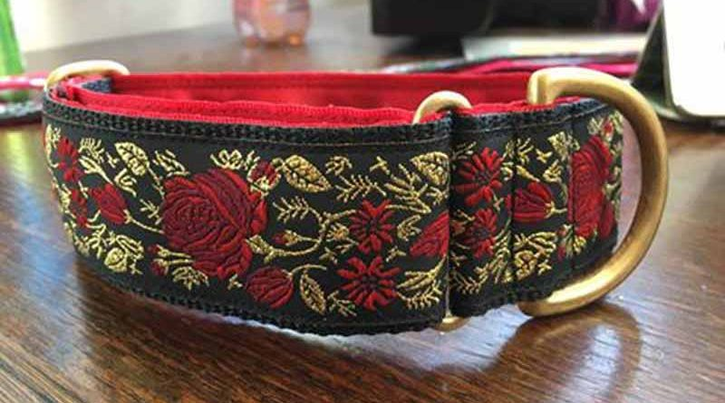"Rosie 1.5"" Satin Lined House Collar"