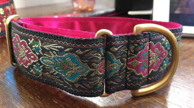 "Tutti Fruity 1.5"" Satin Lined House Collar"