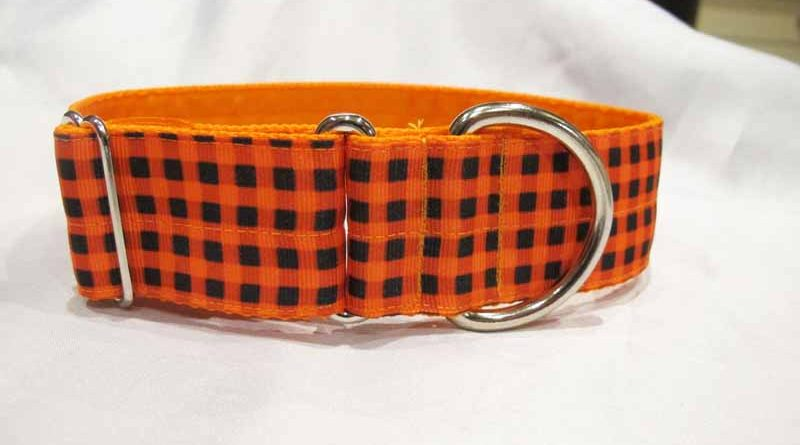 Boo 1.5″ Satin Lined House Collar