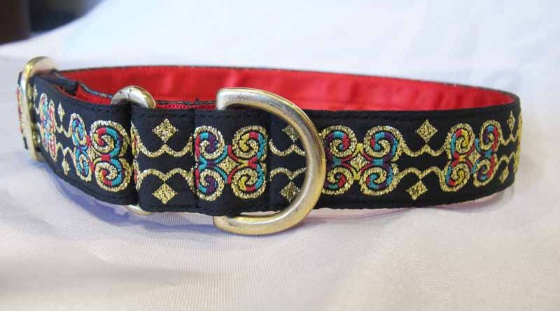 "Jazzy 1"" Satin Lined House Collar"