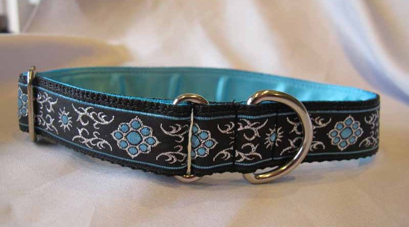Blue Bella 1″ Satin Lined House Collar