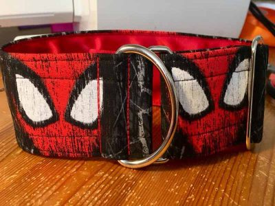 Spiderman 2″ Satin Lined Soft Cotton House Collar
