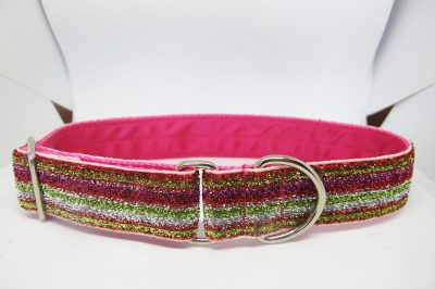 "1"" Tinkerbell Multi Satin Lined House Collar"