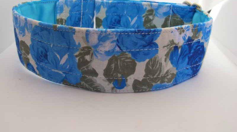 Flora Satin Lined Cotton House Collar