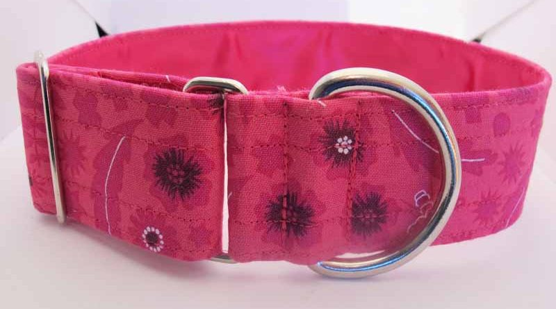 Pink Peri Satin Lined House Collar