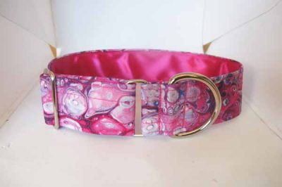 Misty Pink Satin Lined Cotton Collar