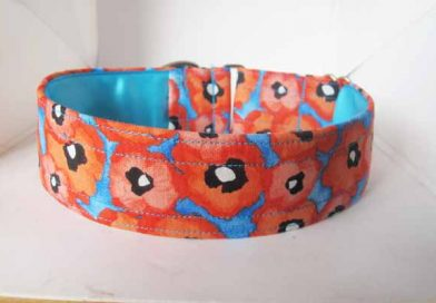 Poppy Perfect Satin Lined Cotton Collar