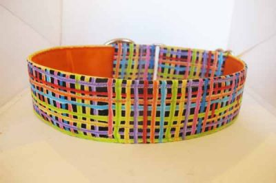 Lines Satin Lined Cotton House Collar