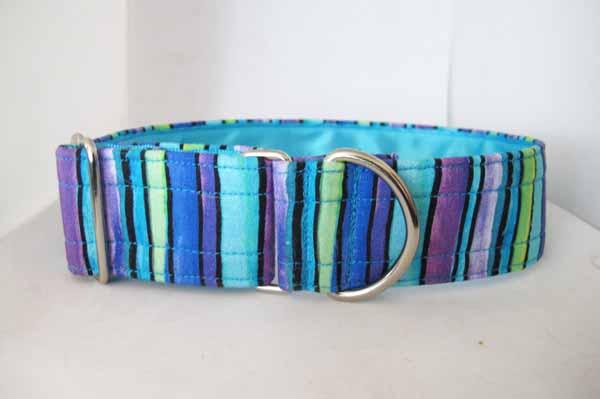 Blue Satin Lined Erin House Collar