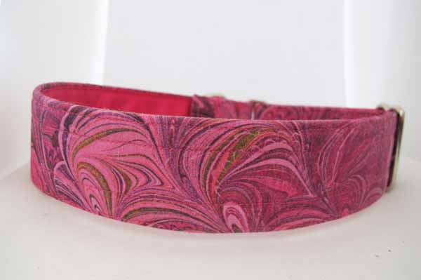 Pink Satin Lined Pink Mona Cotton House Collar