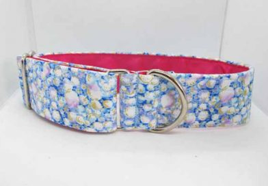 Pink Satin Lined Floss Cotton House Collar