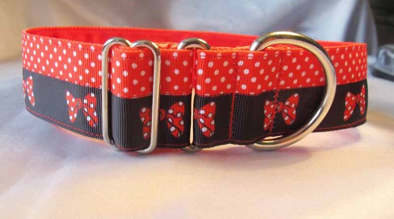 "Minnie 1.5"" Satin Lined House Collar"