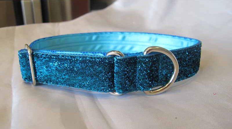 "Turquoise Tinkerbell 1"" House Collar"